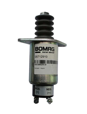 BOMAG 203 Double steel wheel Throttle solenoid valve