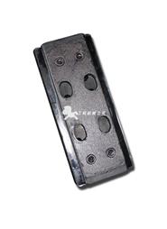 徐工RP600摊铺机分体双孔履带板胶块