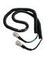 平衡梁两端螺旋电缆