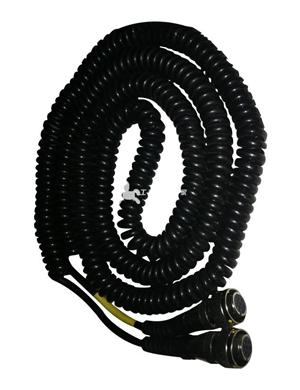 平衡梁中间螺旋电缆