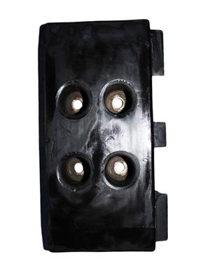 Vogele 1800-2 Integral rubber track plate