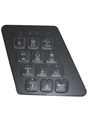 Dynapac CC624 touch screen