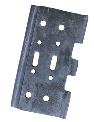 VOGELE  SUPER1800-2 Rubber track pads with bolt on