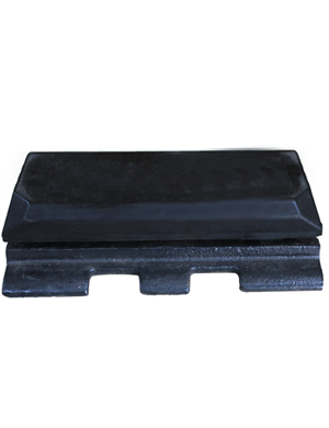 VOGELE  SUPER1800SF Rubber track pads with bolt on